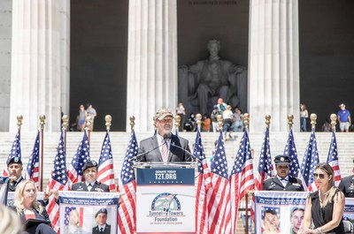 Frank Siller, Chairman and CEO of Tunnel to Towers