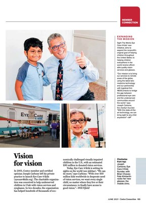 Vision for Vision article