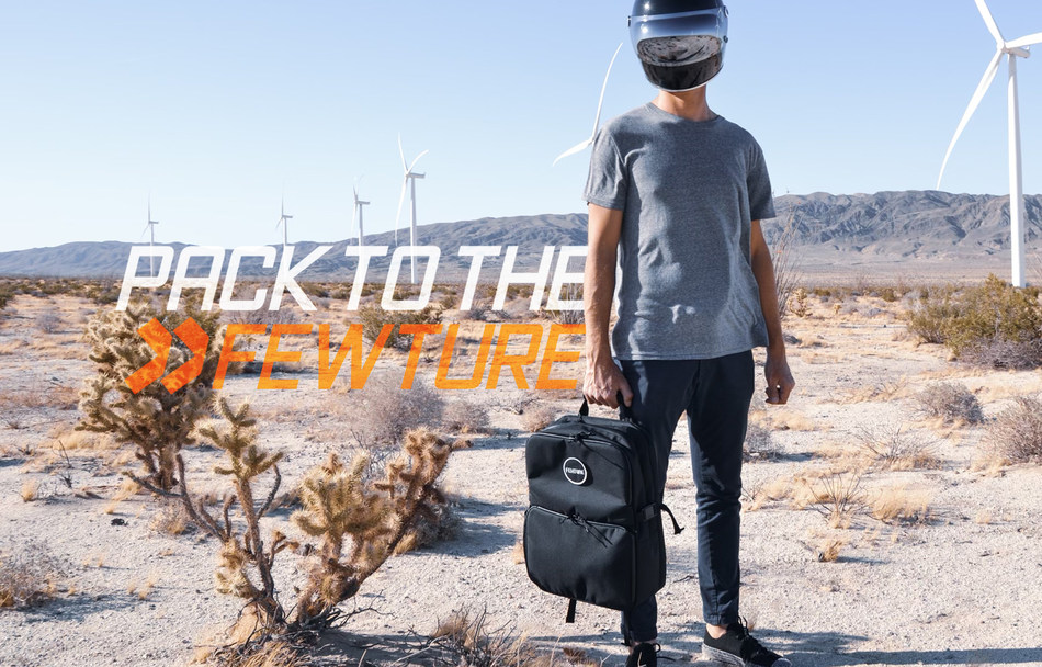 Pack to the Fewture – Meet the Sustainable, Customizable Backpack Made from Recycled Materials.