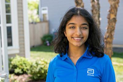 Anushka Agashe, 18, high school STEM intern, Abbott.