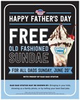 Hamburger Stand Treats Dads To A Free Old Fashioned Sundae For Father's Day
