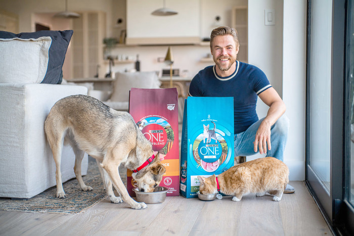 Derek Hough Teams Up with Purina ONE to Help Adoptable Pets Find Forever Homes