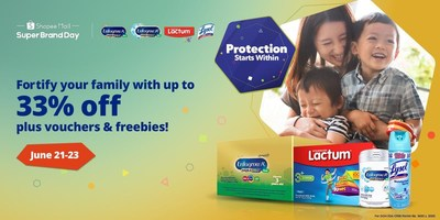 Reckitt and Shopee support Filipinos in fight against pandemic with 'Protection Starts Within' campaign