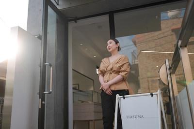 Natsuko Shiraki, owner of ethical jewelry store HASUNA