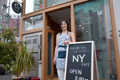Naoko Yoneyama, owner of Japanese rice ball store NY CAFÉ