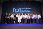 Le Musée national de la soie de Chine présente le Musée en ligne de la route de la soie (SROM) lors de la cérémonie d'ouverture de la Semaine de la Route de la Soie 2021