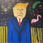 Step Aside Hunter Biden, Trump Painting Sells for Thousands at Online Auction