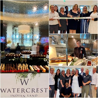 Watercrest Fort Mill-Indian Land Assisted Living and Memory Care is officially welcomed to the community with a ceremonial ribbon cutting and open house with the Greater Indian Land Chamber of Commerce.