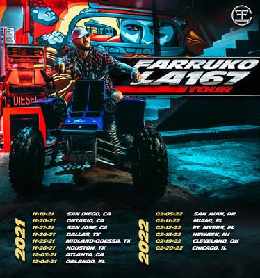 "Farruko ""LA 167"" Tour US and Puerto Rico"