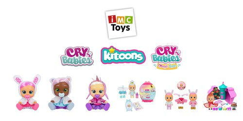 IMC Toys launching Kitoons OTT platform including new launches from Cry Babies and Cry Babies Magic Tears. (CNW Group/IMC Toys)