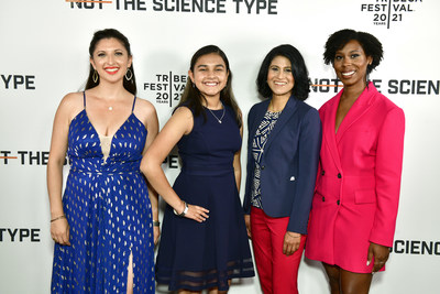 """Dr. Jessica Taaffe, Gitanjali Rao, Dr. Jayshree Seth, Dr. Ciara Sivels attend the debut of """"Not the Science Type"""" produced by 3M"""