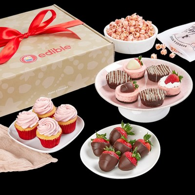 Edible has added new strawberry flavored products to its Edible Bakeshop offerings, including: Strawberry Cheesecakes and Strawberry Cupcakes. All Bakeshop products are handcrafted with care using real, quality ingredients, so consumers can enjoy savory treats that taste homemade.