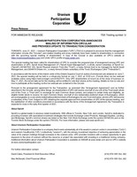 Uranium Participation Corporation Announces Mailing of Information Circular and Provides Update to Transaction Consideration (CNW Group/Uranium Participation Corporation)