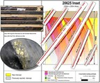 Great Bear Provides Assays Across Width of LP Fault Zone, Drills Separate Intervals of 400.00 g/t Gold Over 0.50 m and 2.23 g/t Gold Over 77.40 m in Same Hole