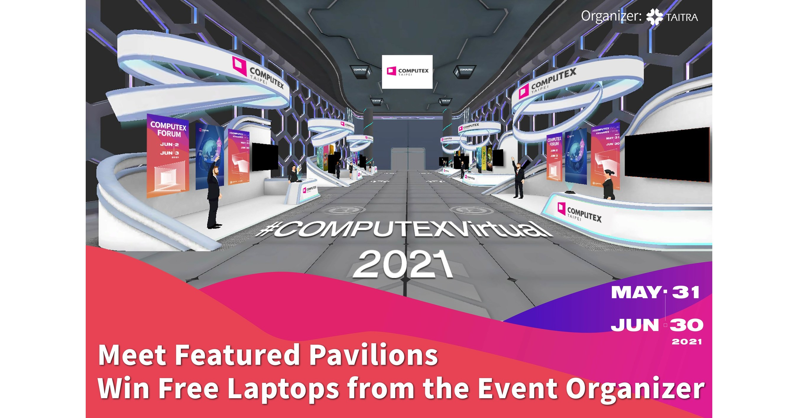 TAIPEI, June 21, 2021 /PRNewswire/ -- COMPUTEX 2021 Virtual is now livestreaming through June 30. The event organizer, TAITRA, has gathered leading companies from 34 countries to showcase the latest products and solutions through Virtual Display. Among the pa…
