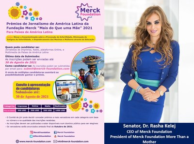 Merck Foundation announces two Media Recognition Awards
