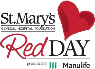 St Mary's Red Day presented by Manulife (CNW Group/St. Mary's General Hospital Foundation)