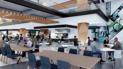 Centene Charlotte campus - Cafe