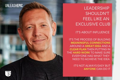 Leadership shouldn't feel like an exclusive club. It's not always easy, but anyone can do it.
