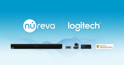 Nureva joins the Logitech Collaboration Program. Certified for large Microsoft Teams Rooms, Nureva and Logitech products deliver an exceptional user experience in hybrid work environments. (CNW Group/Nureva Inc.)