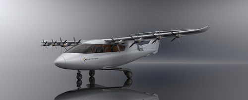 Shown here, Electra's ultra-short takeoff and landing aircraft can deliver nearly triple the payload capacity, an order of magnitude longer ranges, and less than half the operating costs. Electra is the most sustainable choice for advancing urban and regional air mobility.