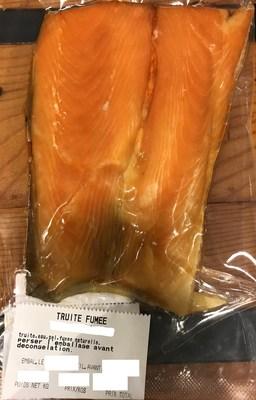 Avis de ne pas consommer du poisson fumé conditionné et vendu par l'entreprise Le Marché des Saveurs du Québec