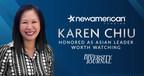 New American Funding's Karen Chiu Honored as Asian Leader Worth Watching