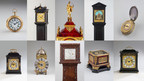 Horologist Dr John C Taylor decides it's time to reduce the size of his clock collection