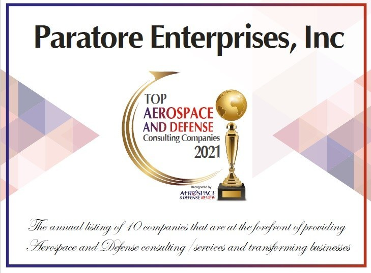 Paratore Enterprises, Inc Top Consulting Company 2021