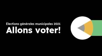 Une source d'information centralisée : www.electionsmunicipales.quebec (Groupe CNW/Directeur général des élections)