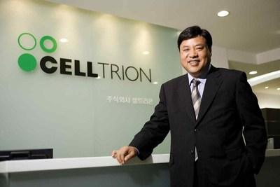 O presidente honorário do grupo sul-coreano Celltrion, Jung Jin Seo.