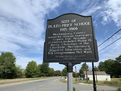 A new 40-home development, The Meadows at Plato Price, will be built on the historic site of the Plato Price School.