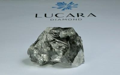 1,174 carat diamond recovered from the Karowe mine in Botswana (CNW Group/Lucara Diamond Corp.)
