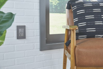 adorne Ultra-Fast PLUS Power Delivery USB Outlet