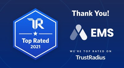 Accruent EMS Software has earned a Top Rated award for Meeting Room Booking Systems, based on the system's user-friendliness, advanced reporting capabilities, and overall scalability.