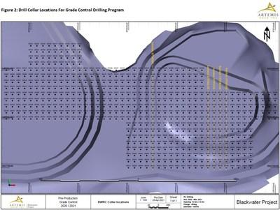 Figure 2 Blackwater Collar Locations (CNW Group/Artemis Gold Inc.)