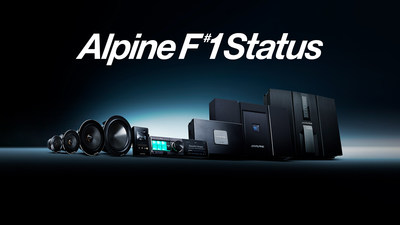 """AlpineF#1Status is a complete premium car audio system that embodies Alpine's vision of """"Emotion in Mobility,"""" by delivering an unparalleled music experience."""