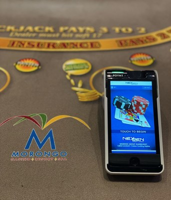 AGS and NexGen Technology are implementing 40 NexGen Fast Cash mobile chip devices at Morongo Casino Resort & Spa in California. These mobile devices provide a quick and easy way for players to buy chips at table games without having to touch cash or visit an ATM.