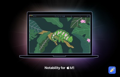 Notability now runs natively on Macs with Apple's powerful M1 chip.