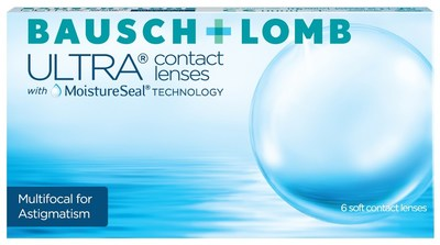Bausch + Lomb ULTRA® Multifocal for Astigmatism lenses