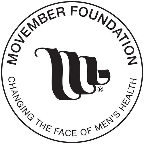 Movember Foundation Logo (PRNewsFoto/Prostate Cancer Foundation)