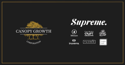 Canopy Growth Completes Acquisition of Supreme (CNW Group/Canopy Growth Corporation)