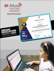 ALTURA by Macmillan Education wins hands down - declared 'Best Classroom Tech Solution of the Year'