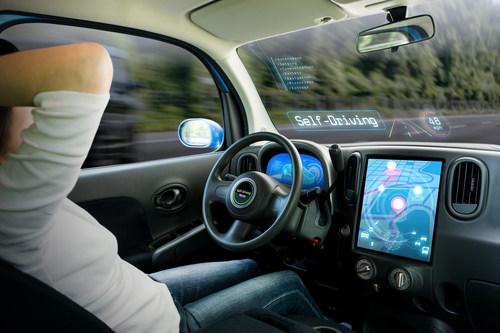 autonomous driving (PRNewsfoto/Frost & Sullivan)