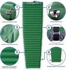 Self Inflating Air Mattress Camping Sleeping Pad From Hyke &...