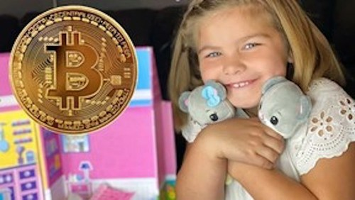 Changing with the times. Beverly Hills Teddy Bear Company first in the industry to offer crypto currency.