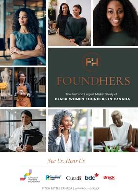Le rapport FoundHers de Pitch Better révèle que les femmes noires entrepreneures sont très instruites et gravement sous-financées (Groupe CNW/Pitch Better)