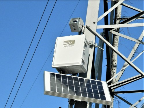 LineVision's V3 Power Line Monitoring System