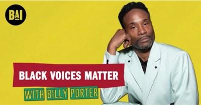 Billy Porter Speaks To Black AIDS Institute