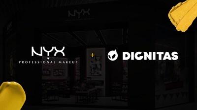 NYX Professional Makeup partners with esports organization, Dignitas.